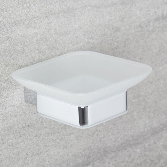Milano Arvo - Modern Soap Dish - Chrome