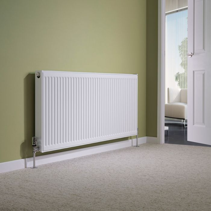 Milano Compact - Double Panel Plus Radiator - 600mm x 1400mm (Type 21)