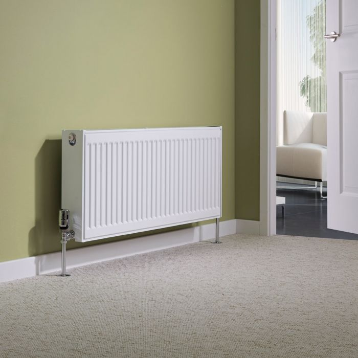 Milano Compact - Double Panel Radiator - 400mm x 1000mm (Type 22)