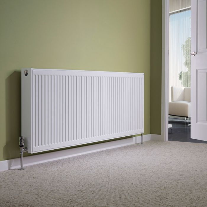 Milano Compact - Double Panel Radiator - 600mm x 1600mm (Type 22)