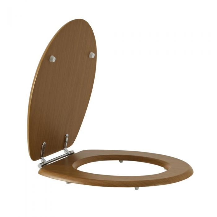 Milano Richmond - Warm Oak Toilet Seat