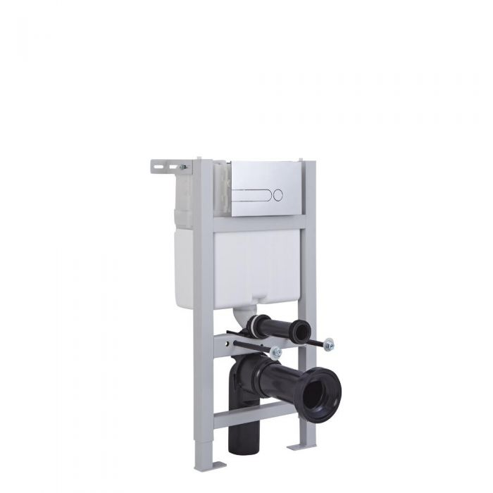 Milano - Wall Hung Fixing Frame and Cistern - 820mm x 400mm