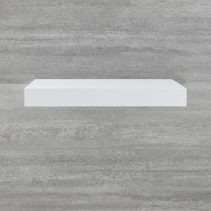 Milano Lurus - 600mm Floating Shelf - White