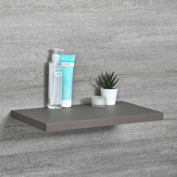 Milano Oxley - Modern 450mm x 250mm Shelf - Grey