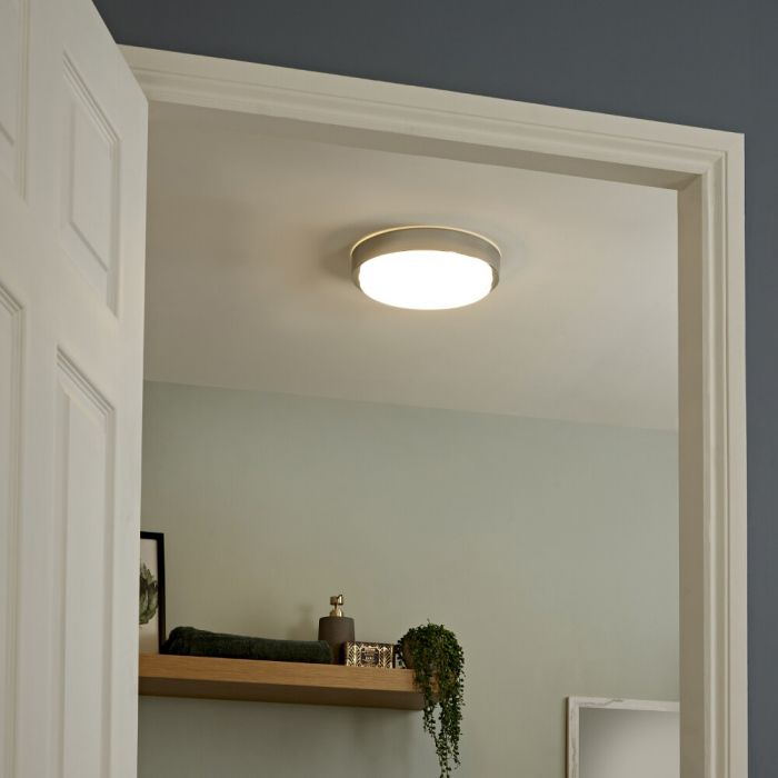 Milano Orchy - LED Bathroom Ceiling Light - Round