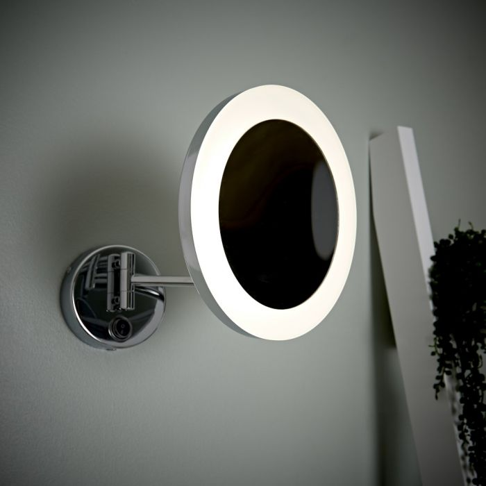 Milano Oirase - LED Shaving Mirror - Round