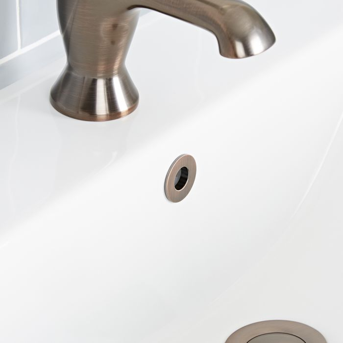 Milano - Oil Rubbed Bronze Basin Overflow Ring