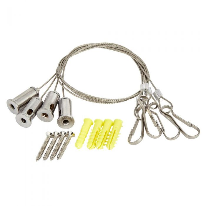 Milano - Wire Hanging Kit for Recessed Shower Heads