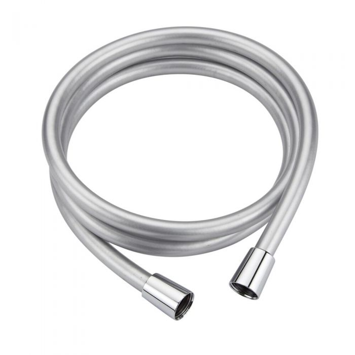 Milano - Silver 1.5m Smooth Shower Hose