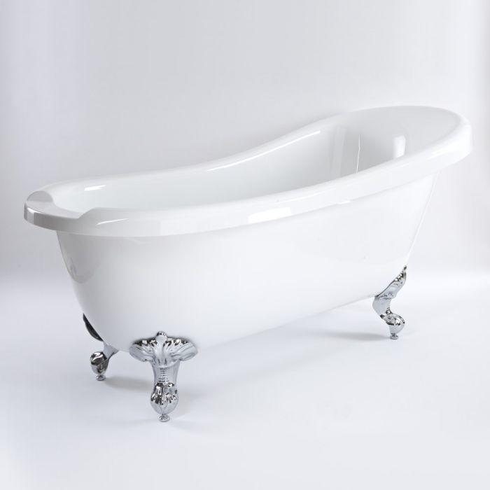 Milano Legend - 1710mm x 740mm Freestanding Slipper Bath