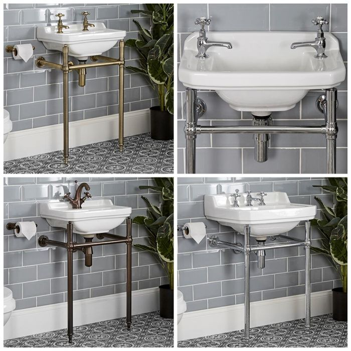 Milano Richmond - Traditional Basin and Washstand - Choice of Size and Finish
