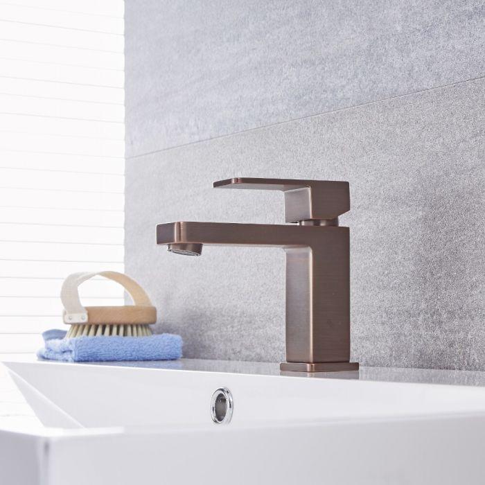Milano Arvo - Mono Basin Mixer Tap - Oil Rubbed Bronze