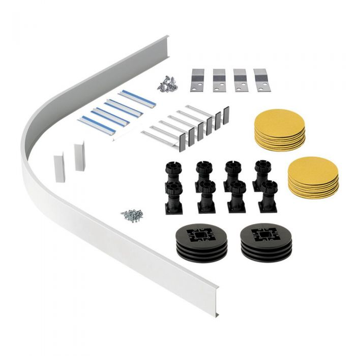 Milano Lithic - Panel Kit for Quadrant and Offset Quadrant Shower Trays