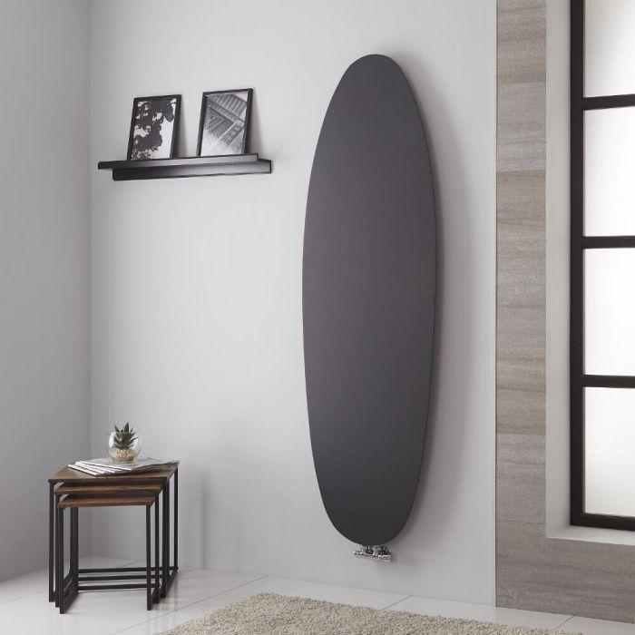 Lazzarini Way Tavolara - Anthracite Vertical Designer Radiator - 1728mm x 535mm