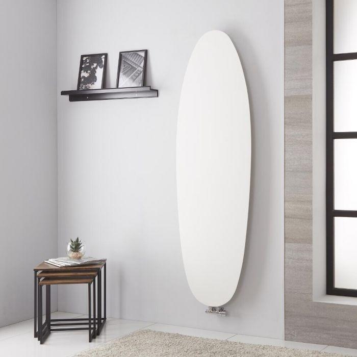 Lazzarini Way Tavolara - White Vertical Designer Radiator - 1728mm x 535mm