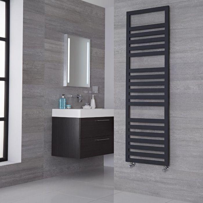 Lazzarini Way Urbino - Anthracite Designer Heated Towel Rail - 1600mm x 500mm