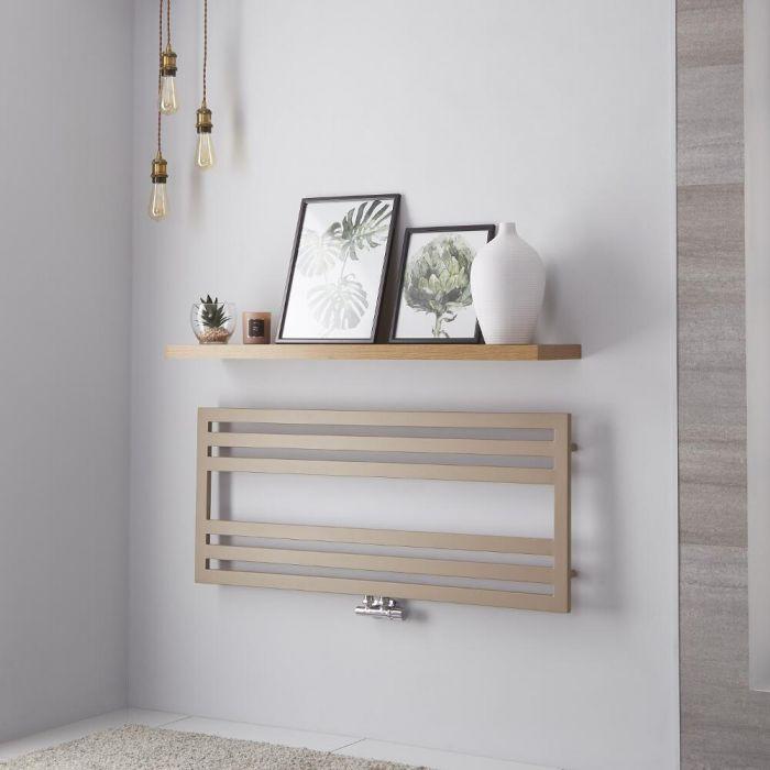 Lazzarini Way Urbino - Mineral Quartz Designer Heated Towel Rail - 500mm x 1200mm