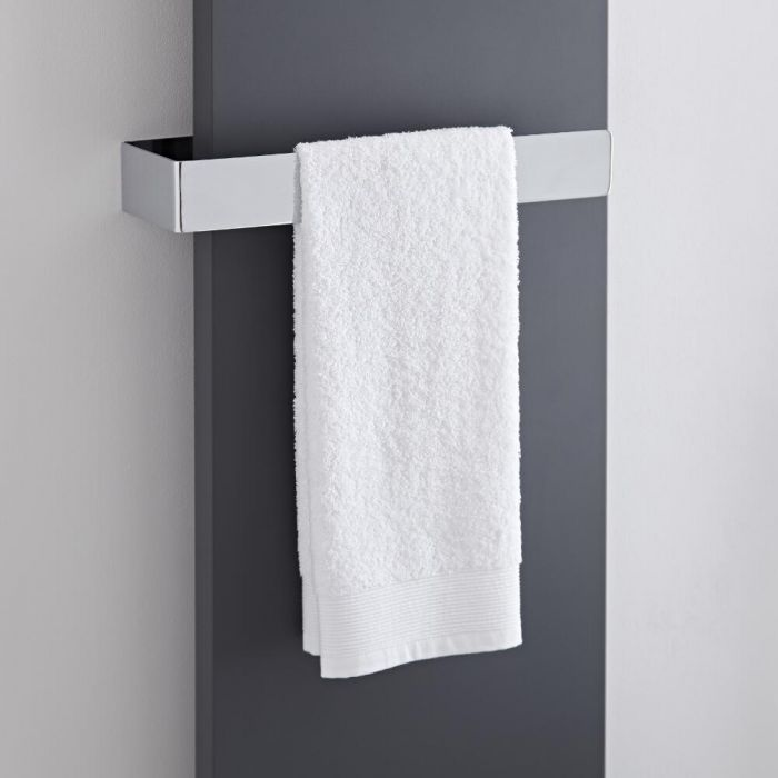 Milano - Wall Mounted Towel Rail - 420mm x 60mm