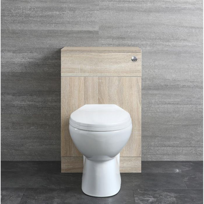 Milano Arch - 500mm WC unit and Back to Wall Toilet, Cistern and Seat