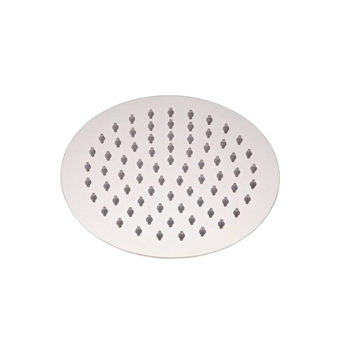 Milano Mirage - Modern 200mm Stainless Steel Shower Head - Chrome