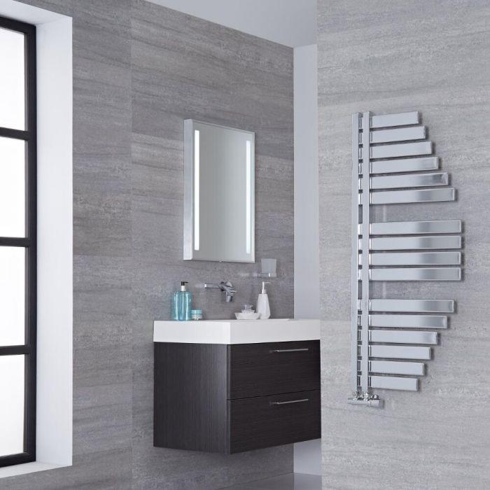 Lazzarini Way Spinnaker - Chrome Designer Heated Towel Rail - 1100mm x 483mm