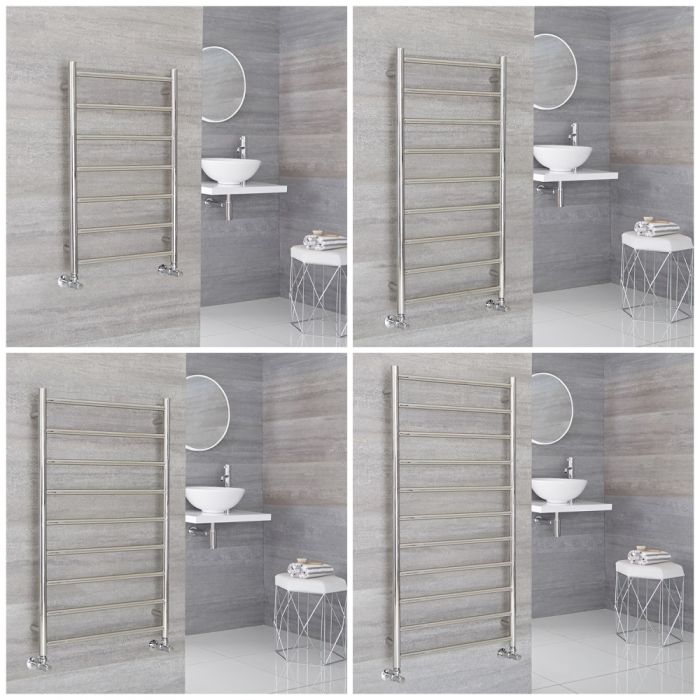 Milano Esk - Stainless Steel Heated Towel Rail - Choice of Size