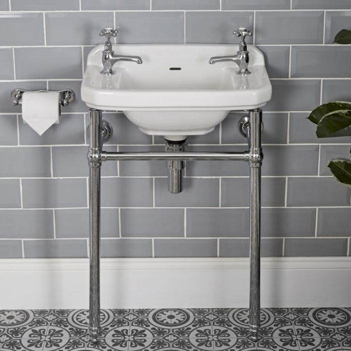 Milano Richmond - Traditional Cloakroom Basin and Washstand
