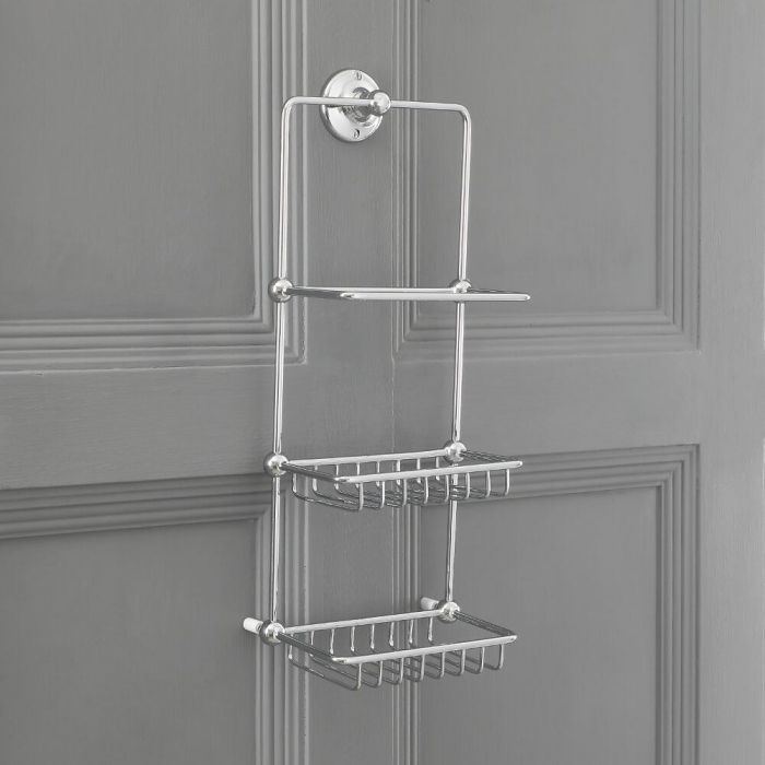 Milano Elizabeth - Traditional Wall Hung Shower Tidy
