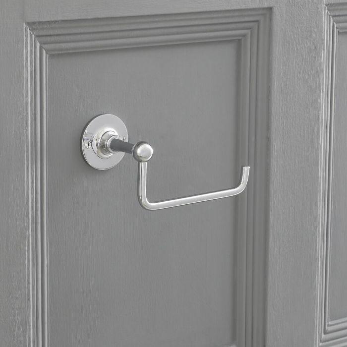 Milano Elizabeth - Toilet Roll Holder - Chrome