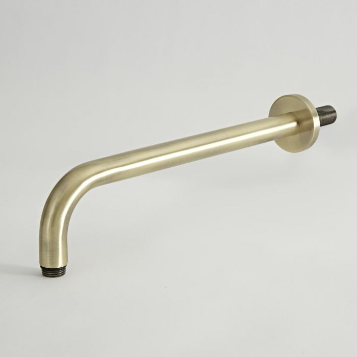 Milano Elizabeth - Wall Mounted Shower Arm - Brushed Gold