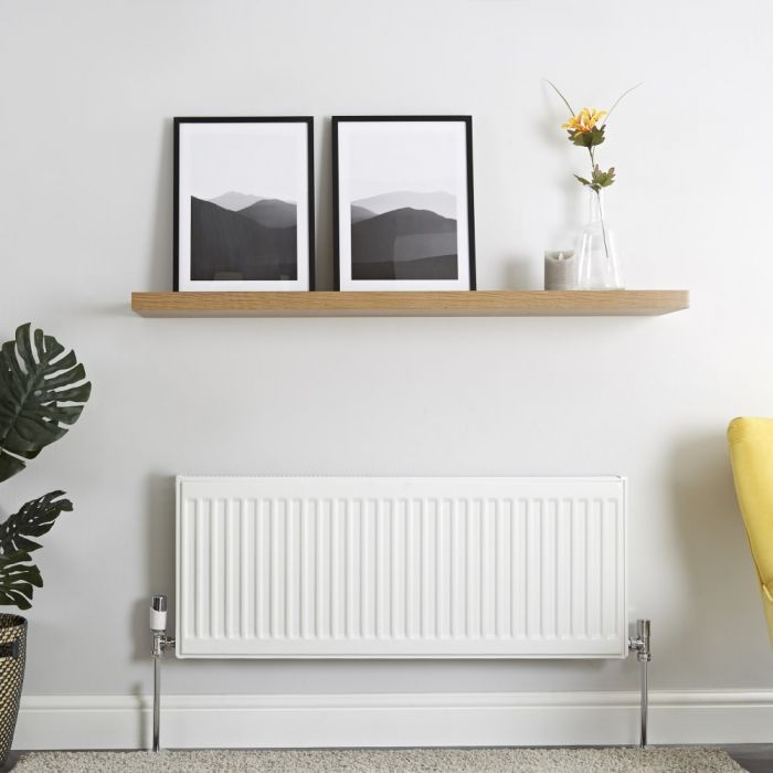 Milano Compact - Single Panel Radiator - 400mm x 1000mm (Type 11)