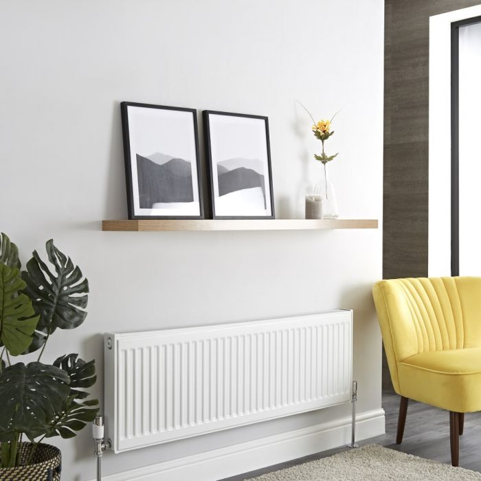 Milano Compact - Single Panel Radiator - 400mm x 1200mm (Type 11)