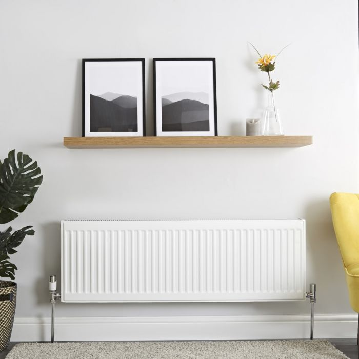 Milano Compact - Double Panel Plus Radiator - 400mm x 1200mm (Type 21)