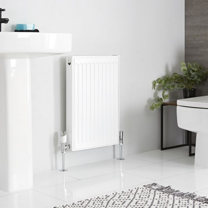 Milano Compact - Double Panel Plus Radiator - 600mm x 400mm (Type 21)