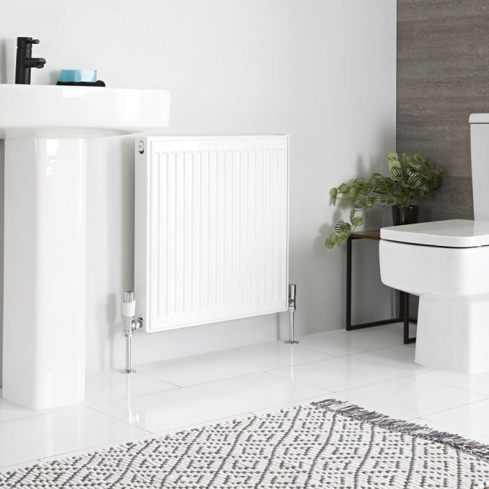 Milano Compact - Double Panel Plus Radiator - 600mm x 600mm (Type 21)