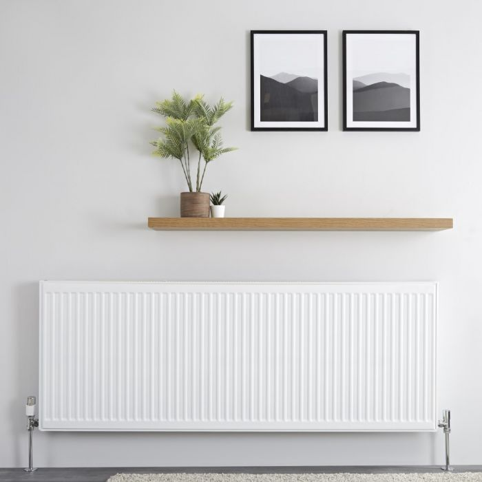 Milano Compact - Single Panel Radiator - 600mm x 1600mm (Type 11)