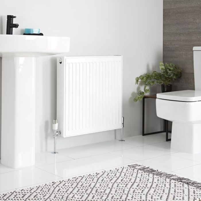 Milano Compact - Double Panel Radiator - 600mm x 600mm (Type 22)