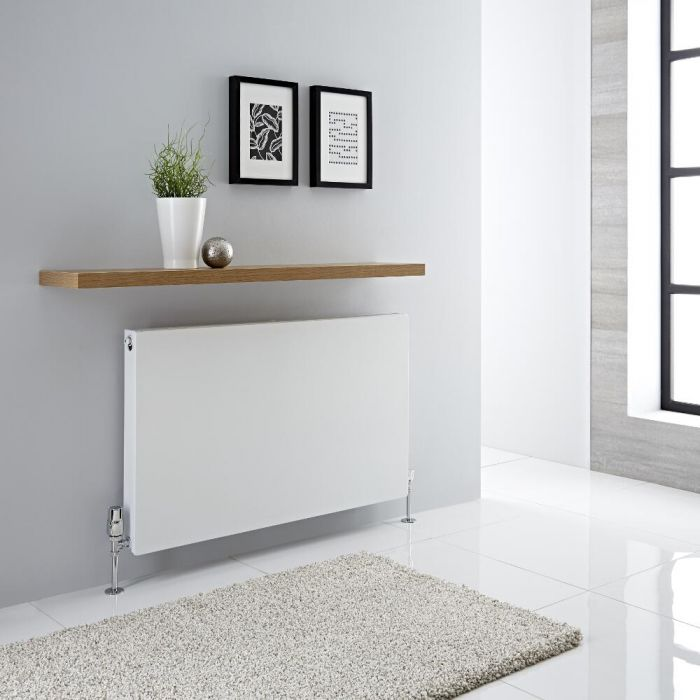 Milano Mono - Double Flat Panel Plus Convector Radiator - 600mm x 1000mm (Type 21)