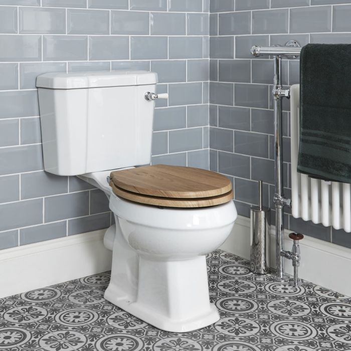 Milano Richmond - Toilet Pan and Cistern - Choice of Seat