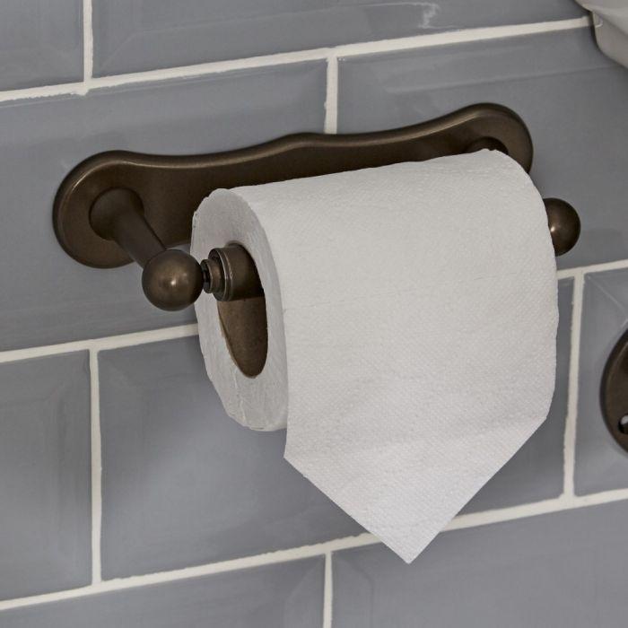 Milano Rosso - Toilet Roll Holder - Oil Rubbed Bronze