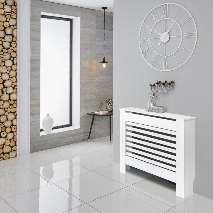 Milano Elstree - White Radiator Cabinet - 815mm x 1120mm
