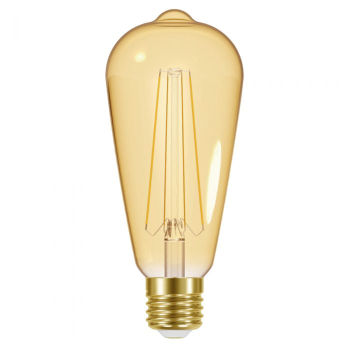 Energizer LED 5W E27 ST64 Gold Filament Bulb