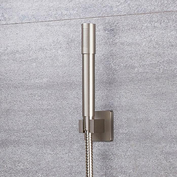 Milano Ashurst - Modern Pencil Hand Shower - Brushed Nickel