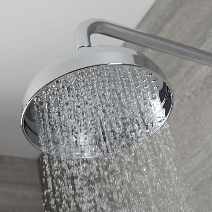Milano Elizabeth - 205mm Traditional Apron Shower Head- Chrome