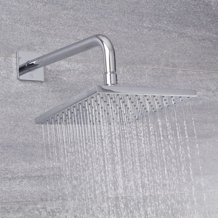 Milano Arcadia - Modern 200mm Square Shower Head