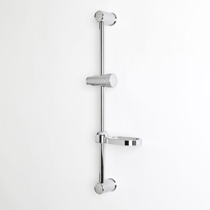 Milano Select - Modern Shower Riser Rail - Chrome