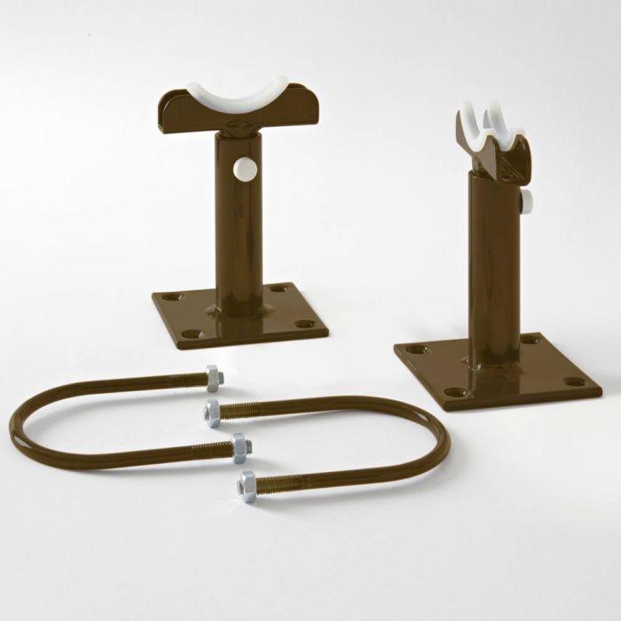 Milano Windsor - Metallic Bronze Floor-Mounting Feet for 500mm and 750mm Column Radiators