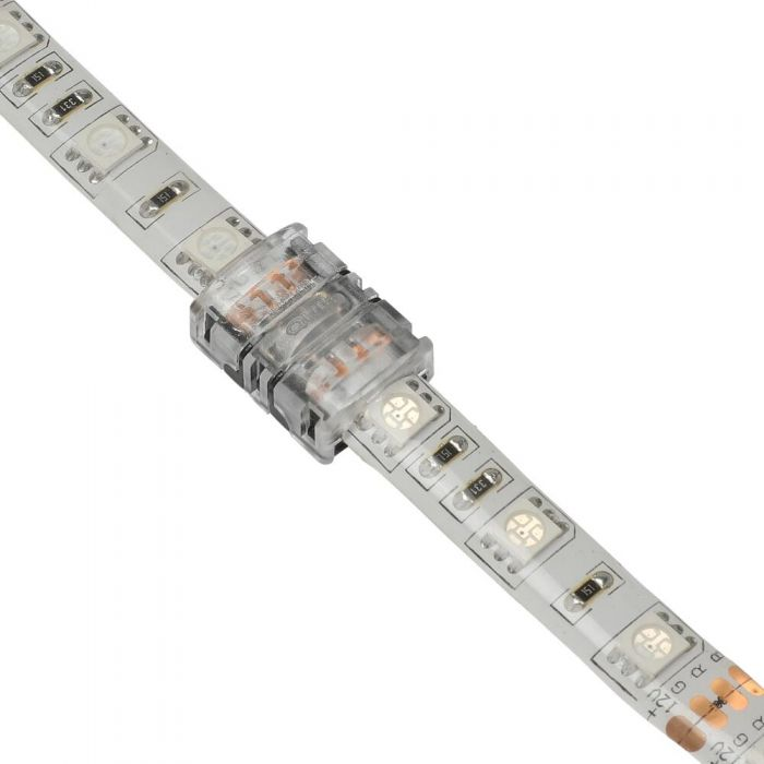 Biard LED Strip Connector for 5050 10mm IP65 RGB - 4 Pin