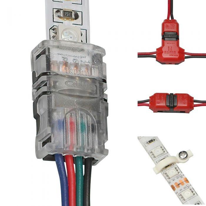 Biard - LED Strip Light Connectors - Various Types