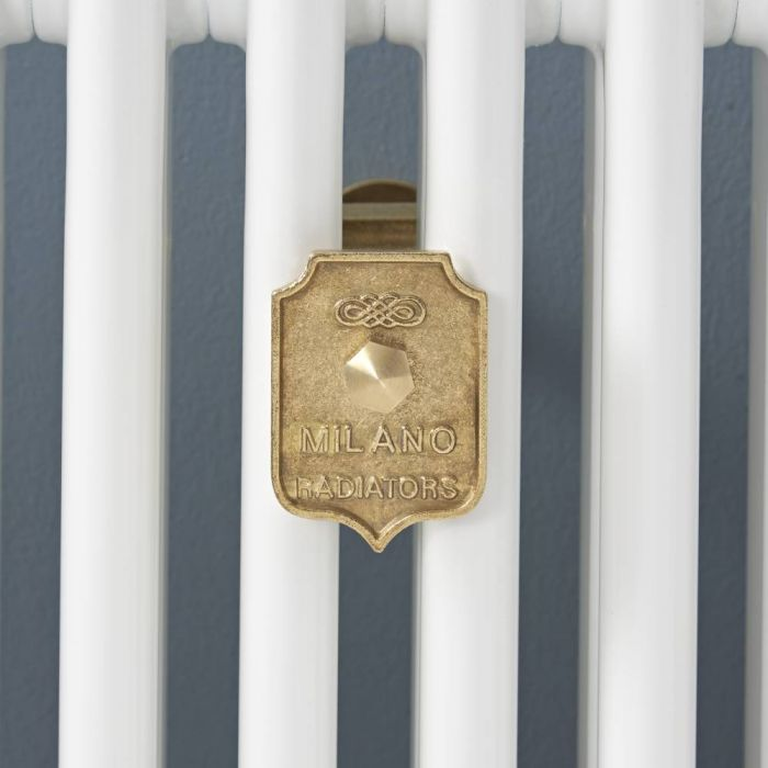 Milano Windsor - Column Radiator Wall Stay - Brass